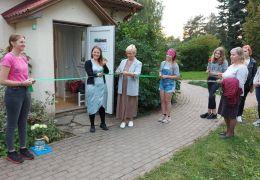 Jaunpils jauniešu centra atklāšana