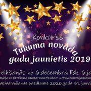Tiek izsludināts konkurss ''Tukuma novada gada jaunietis 2019''